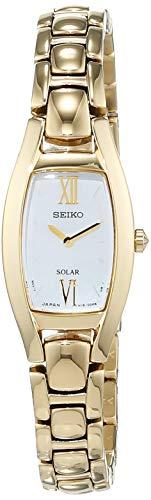 Seiko Women's Quartz Watch MOP Dial Analogue Display Quartz Stainless Steel SUP314P1