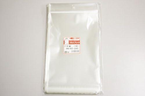 OPP袋 プラスパック 40μx160x(30+240)+30 ( 透明 ヘッダー付 袋) 【 5,000 枚】