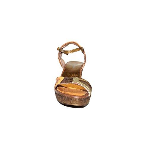 3024 Cu C a Confort Casual IXART Verano Mediana Sandalias Piel Colores 5008 IXART dxa1TwqAd