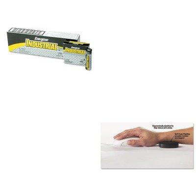 kiteveen91mas99504 – Valueキット – マスターCaster Rolling Wrist Rest ( mas99504 )とEnergizer Industrialアルカリ電池( eveen91 )   B00MOL9OJ6