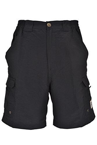 Bimini Bay Outfitters Boca Grande Nylon Short (36, Black)