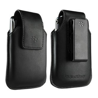 Blackberry OEM HDW-19819-001 Swivel Pouch Leather Case for Blackberry Storm 9530 9500 by Eforcity