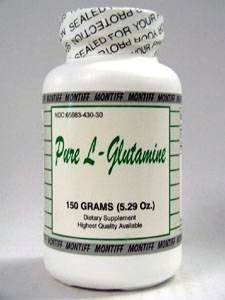 Montiff - Pure L-Glutamine (powder) 150 gms