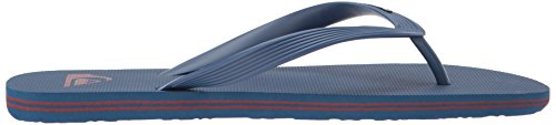 Quiksilver Mens Molokai Flip-Flop Blue/Red/Blue 5EaMLfGWvd