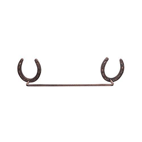 DEI Western Horseshoe Cast Iron Towel Rack