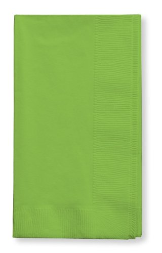 (Creative Converting Touch of Color 2-Ply 50 Count Paper Dinner Napkins, Fresh Lime)