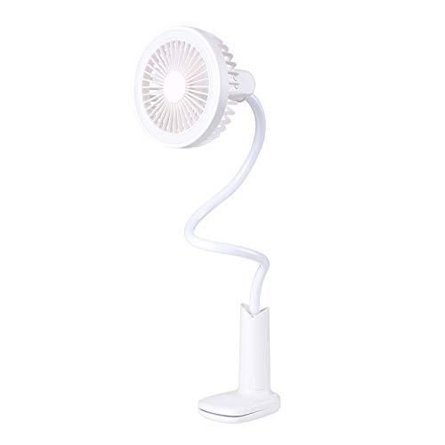 SaveStore Air Rechargeable 360 Rotation Mini Portable with Led Fan Portable Hand Fan Cool Wind for Office Home Travel