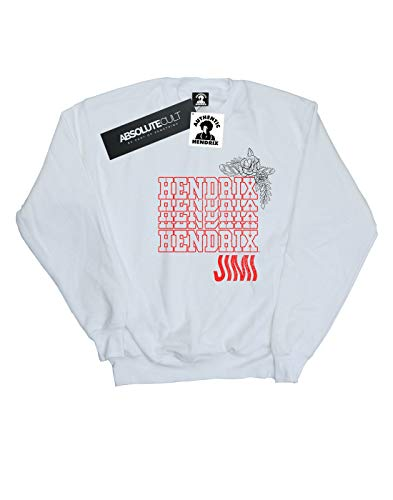 Camisa Hendrix De Power Jimi Mujer Flower Entrenamiento Blanco 7xnHaaP