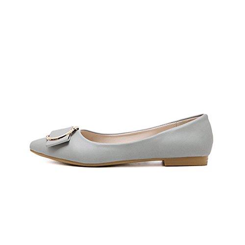 T-juli Dames Balletschoenen Klassieke Puntige Neus Comfort-slip Schoenen Grijs