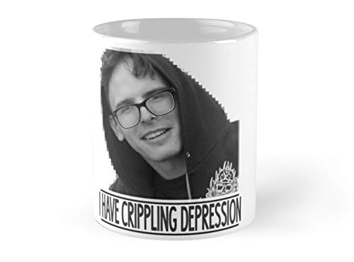 - I Have Crippling Depression Mug - 11oz - Made from Ceramic - Best gift for family friends