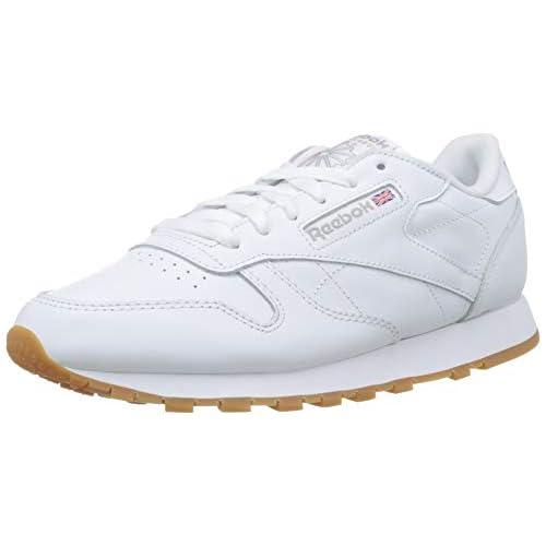 chollos oferta descuentos barato Reebok Classic Leather Zapatillas Mujer Blanco Int White Gum 40 5 EU