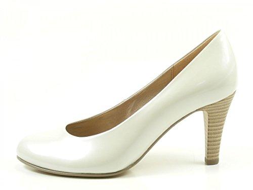 Gabor 65-210 Zapatos de tacón de material sintético mujer Offwhite