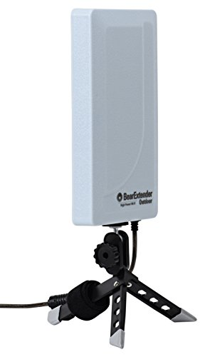 Bearifi BearExtender Outdoor RV & Marine High Power USB Wi-Fi Extender Antenna for PCs High Power Repeater