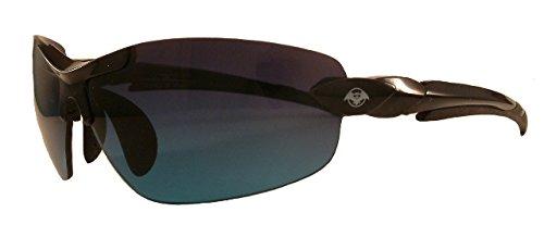 SOLAR BAT 734B Leverage Victory 34 Black Sunglass ()