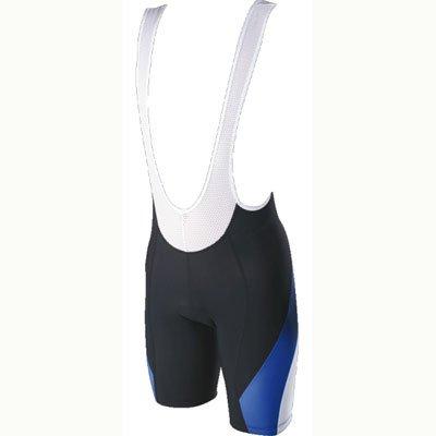 Shimano ECWR304SBSPBS Herren ACCU 3D Trägershorts, schwarz/weiß/blau, S