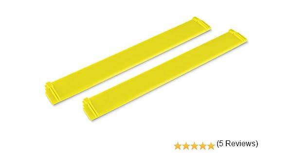 Kärcher 2.633-514.0 accesorio para limpiacristales eléctrico Cuchilla de limpieza - Accesorios para limpiacristales eléctrico (Cuchilla de limpieza, Kärcher, WV 6, Amarillo, 2 pieza(s), 280 mm): Amazon.es: Bricolaje y herramientas