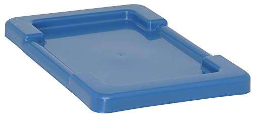 Cross Stack Tote, 17.25X11, Blue - LID1711BL Pack of 2 ()