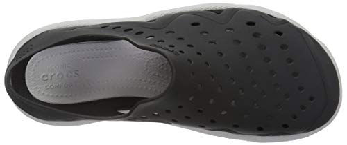 Crocs Men's Swiftwater Wave M Sport Sandal Black/Pearl White 5 M US by Crocs (Image #9)