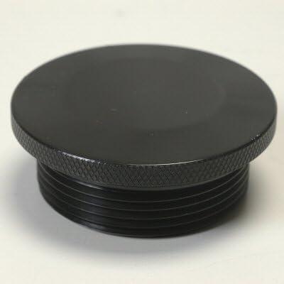 Billet Aluminum Replacement Gas Cap For Remote Fuel Filler Necks 2.25-10 Thread