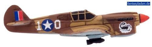 Usa - P40 Warhawk Flight - Flames Of War P-40 Warhawk Flight