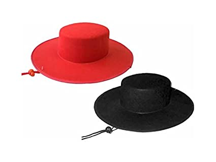 DISONIL Sombrero 52 cm Bandido: Amazon.es: Juguetes y juegos