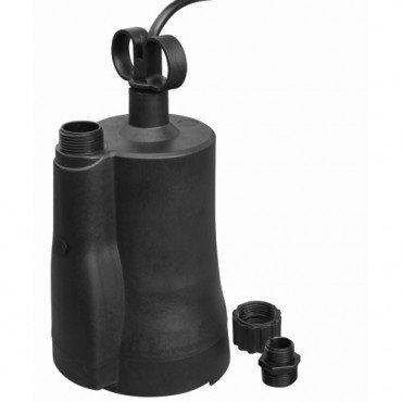 1/6 Horsepower Submersible Utility Pump 1350 GPH, 23 ft T...