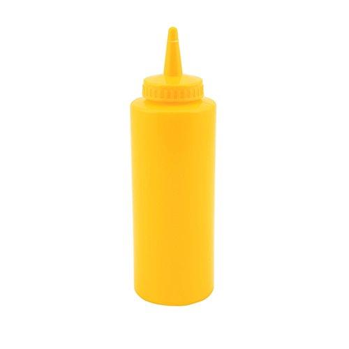Genware NEV-SQB12Y Squeeze Bottle 12 oz Yellow