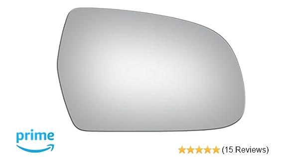 Burco 5435 Convex Passenger Side Replacement Mirror Glass for Audi A3, A3  Quattro, A4, A4 allroad, A4 Quattro, A5, A5 Quattro, RS5, S4, S5 (2010,