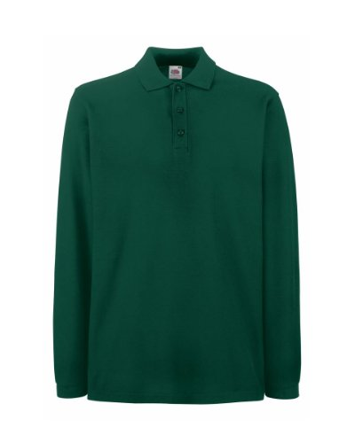 Fruit of the Loom - Camisas - para mujer verde (Forest green)
