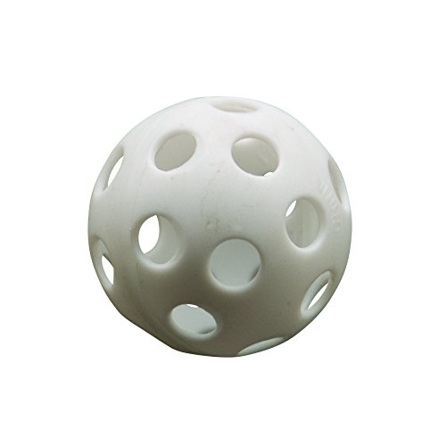 Athletic Specialties Perforated Golf Ball Box of 500 White by Athletic Specialties