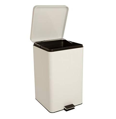 McKesson 81-35266 Entrust Waste Can, Steel, Square, 18-1/4