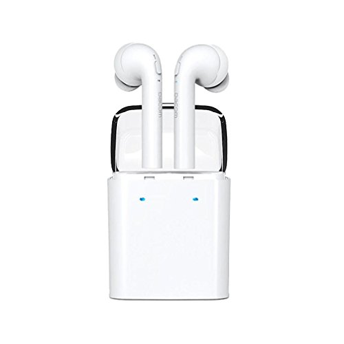 Price comparison product image Wireless Bluetooth Earphones, Fheaven Twins Wireless Bluetooth In-ear Earphones Stereo Headset For iphone 7 Airpods Android