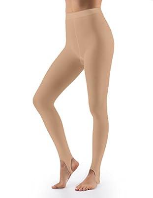Grandeur Hosiery Women's Ultra Soft Stirrup Tights