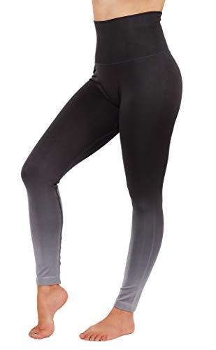 Vibrant Vixen Women's Yoga Pants Workout Leggings High Waist Dipdry Activewear (M fit 6-8, VL13-CHA) ()
