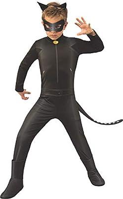 Ladybug - Disfraz de Cat Noir para niños, talla 9-10 años (RubieS ...