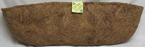 (Panacea Products 88598 30-Inch Trough Coco Fiber Liner, Brown)