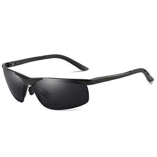 c1fd5811f8 De alta calidad Gafas de sol polarizadas para hombres UV 400 Retro  irrompible conducción de metal