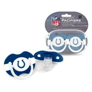 Indianapolis Colts Baby Pacifiers - 2 pack