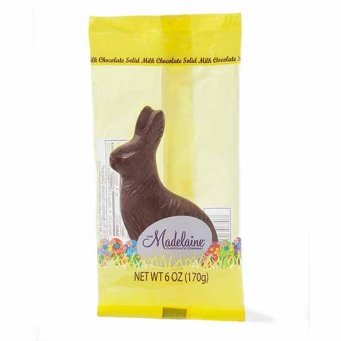 Easter Sitting Bunny Solid Milk Chocolate (6 Oz) (Easter Bunny Chocolate compare prices)