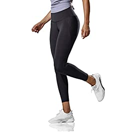 CRZ YOGA Hugged Feeling High Waisted Compression Leggings Women 7/8 Workout Leggings-25 Inches
