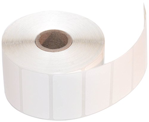 CompuLabel Direct Thermal Labels, 2-Inch x 1 Inch, White, Roll, Permanent Adhesive, Perforations Between Labels, 1300 per Roll, 12 Rolls per Carton (530550) -