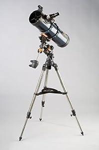Celestron 130EQ-MD AstroMaster Motor-Driven Telescope; CG-2 equatorial; Erect image; StarPointer