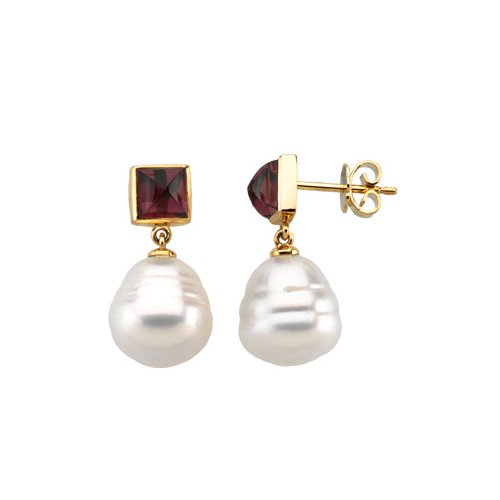 14k-yellow-gold-6-mm-square-shaped-rhodolite-garnet-and-paspaley-south-sea-cultured-pearl-earrings