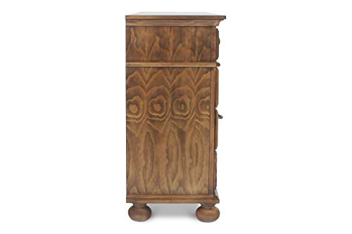 New Classic Furniture Cumberland Bedroom Dresser, Antique Pine