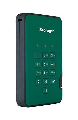 "Encrypted External Hard Drive Diskashur DT2 By iStorage"""