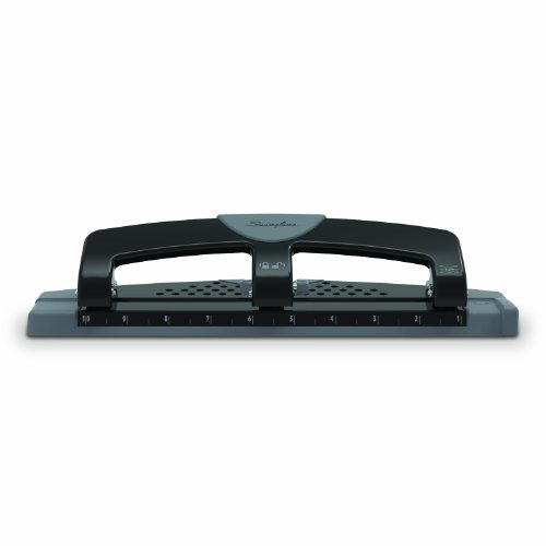 Swingline 3 Hole Punch, Low Force, 12 Sheets Punch Capacity, SmartTouch (A7074134)