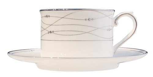 - Royal Doulton Precious Platinum 6.8-Ounce Teacup