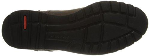 Rockport V80565, Scarpe stringate uomo nero Black Brown
