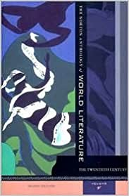 Book The Norton Anthology of World Literature 2nd (second) edition Text Only