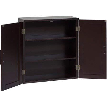 2 Door Dark Espresso Dolce Wall Cabinet